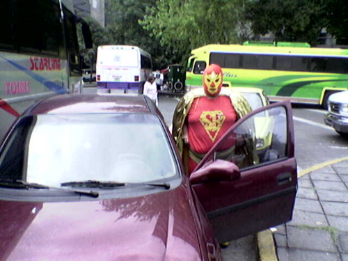 Super Bario - real life super hero mexicain
