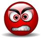 Smiley angry