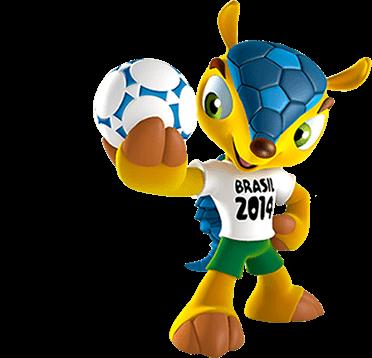 Mascotte CdM Brésil 2014