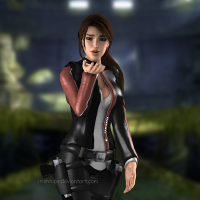 Lara Croft by irishhips on Deviant Art